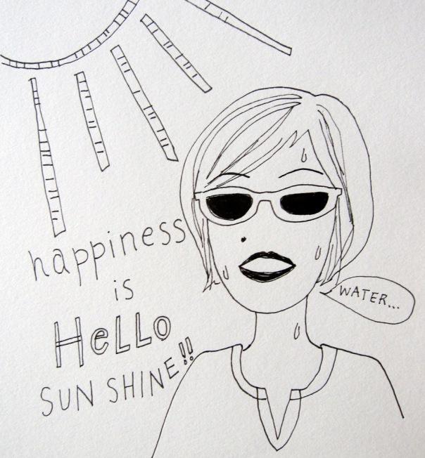 this Seattlite needs a gentler introduction to sun & heat...