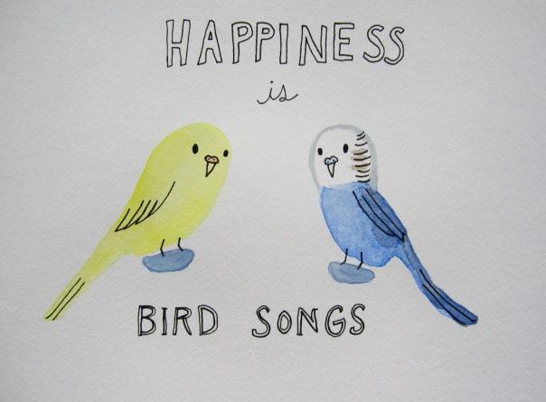 as opposed to bird screams :)