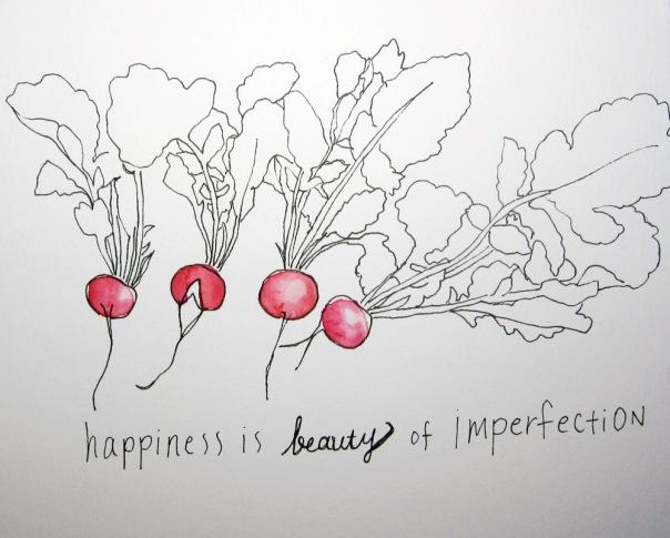 imperfect radish