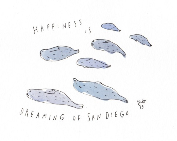 Happiness is dreaming of San Diego. So excited for our vacation!!
