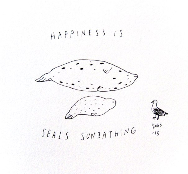 Day 317: Happiness is seals sunbathing.