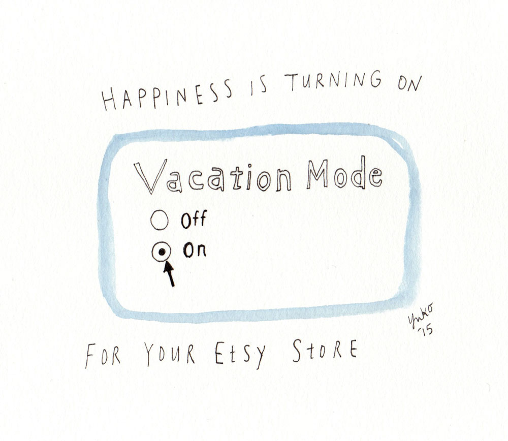 Day 313 Happiness Is Turning On Vacation Mode For Your