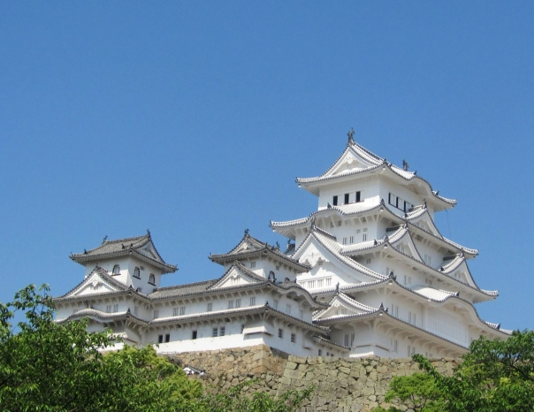 HImeji is best known for its beautiful castle! Photo credit by Yoko Miki (a.k.a. my mom)