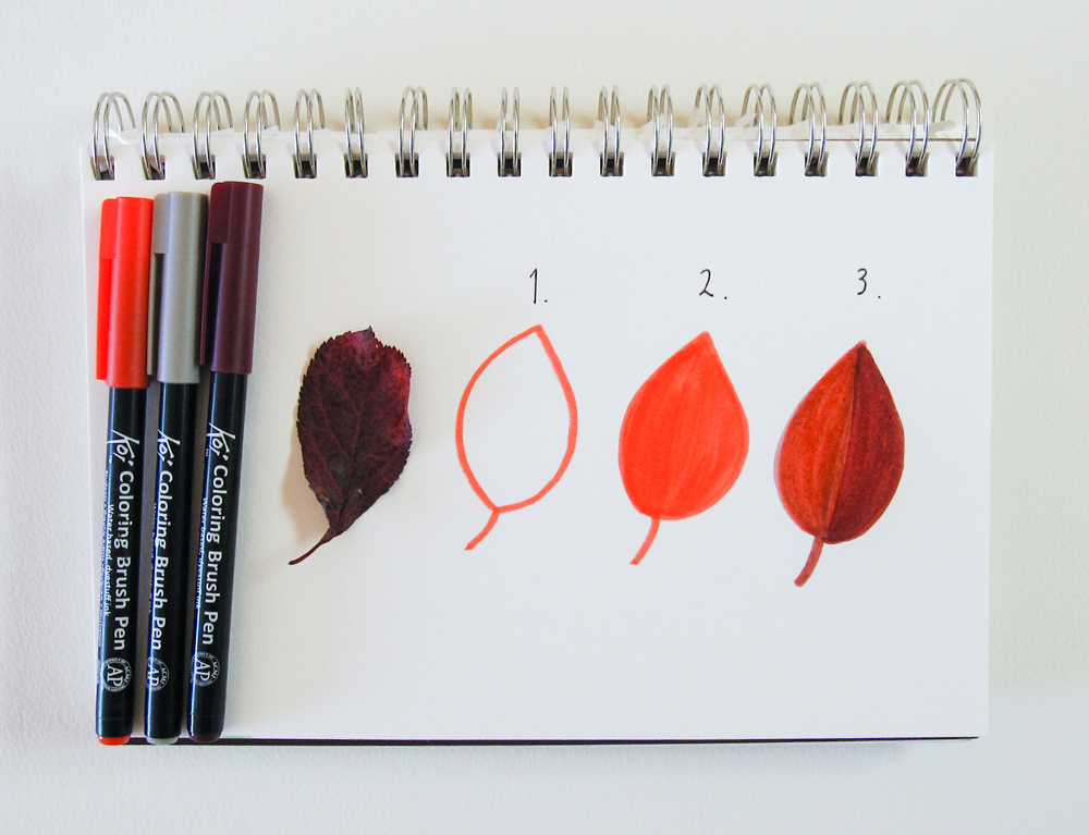 My Favorite Tools: Sakura Koi Coloring Brush Pens | Honeyberry Diary