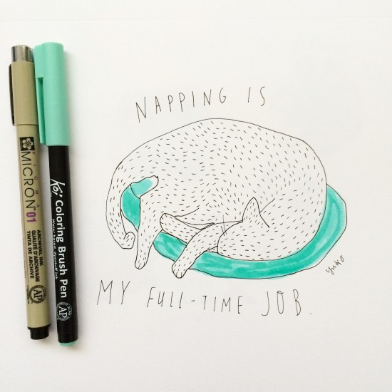 Napping is full time job
