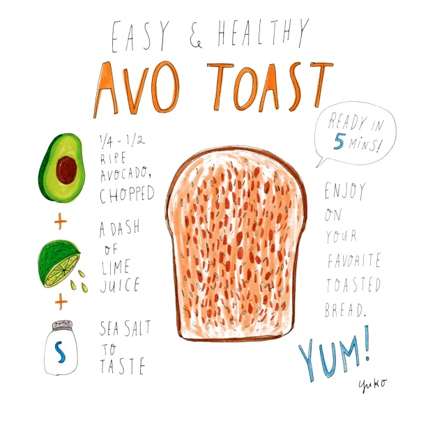 Easy & Healthy Avo Toast Recipe