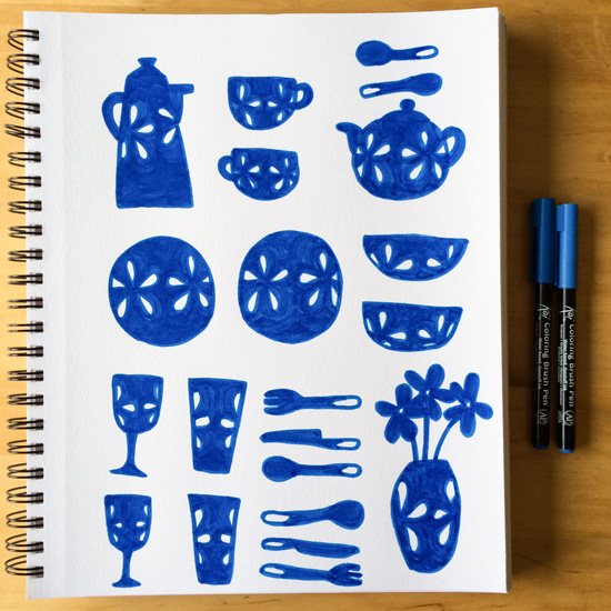 Blue-kitchenware-sketchbook_lores