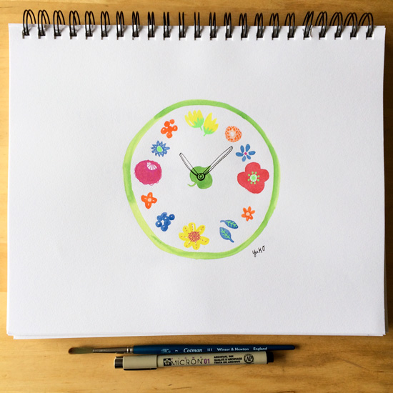 Flower-clock-sketchbook_lores