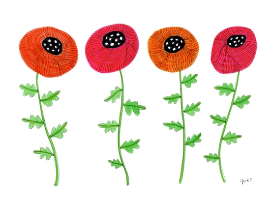 Orange-&-Pink-Poppies-9x12_lores
