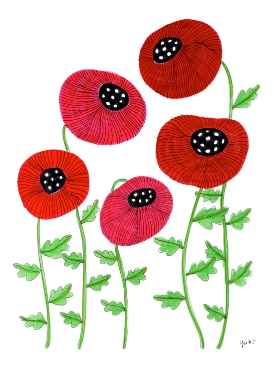 poppies-pink-and-red-9x12_lores