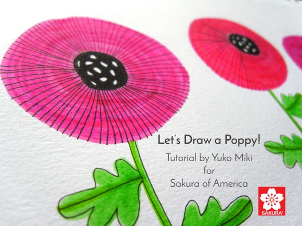 Sakura_Poppy_Drawing_Tutorial-Cover_1000px