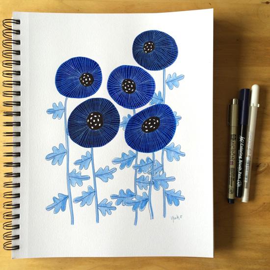 Blue-poppies-w.-wt-gellyroll_550px
