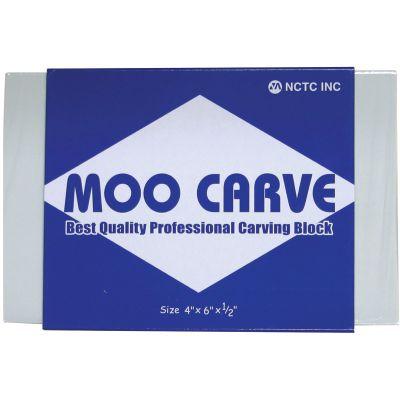 moo carve block printing block