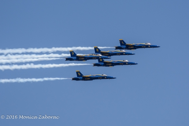 Oh, Blue Angels... Only if you were quieter...