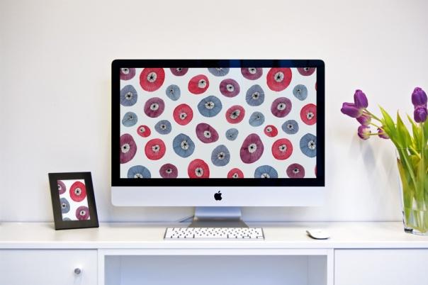 watercolor-circle-flower-desktop-wallpaper